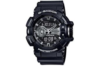 Casio G-Shock Black / Silver Analogue/Digital Men's Watch GA400GB-1A GA-400GB-1ADR