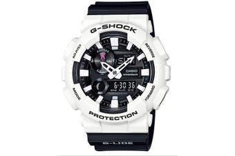Casio G-Shock Black /White Analogue/Digital G-Lide Series GAX100B-7A GAX-100B-7ADR