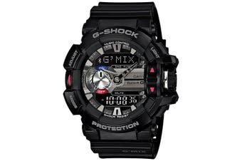 Casio G-Shock G'MIX Bluetooth Analogue/Digital Mens Black Watch GBA-400-1A
