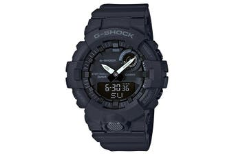 Casio G-SHOCK Black G-SQUAD Step Tracker Bluetooth Men's Watch GBA800-1A GBA-800-1A