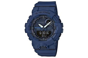 Casio G-SHOCK Dark Blue G-SQUAD Step Tracker Bluetooth Men's Watch GBA-800-2A