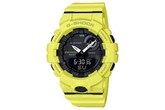 Casio G-SHOCK Yellow G-SQUAD Step Tracker Bluetooth Men's Watch  GBA800-9A