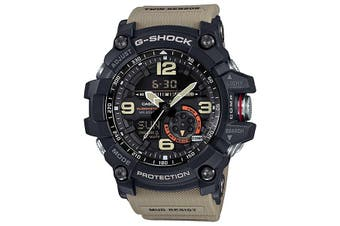 Casio G-Shock Black/Beige Twin Sensor Mudmaster GG1000-1A5 GG-1000-1A5DR