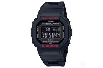 Casio G-Shock MultiBand 6 Bluetooth Solar Digital Mens Black Watch GWB5600HR-1 GW-B5600HR-1DR