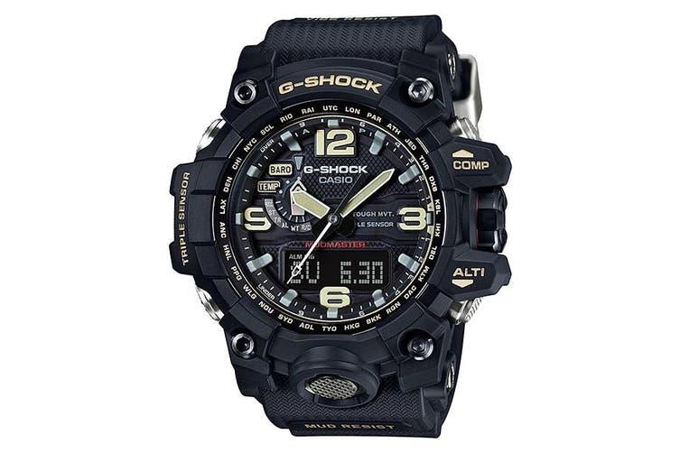 CASIO G-Shock Limited Edition Black Solar Mudmaster Mens Watch GWG-1000-1ADR