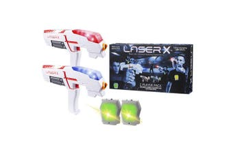 Laser X Laser Tag Game Double Pack