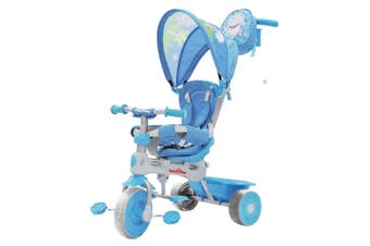 Trike Star 3-in-1 Grand Comfort Tricycle in Blue