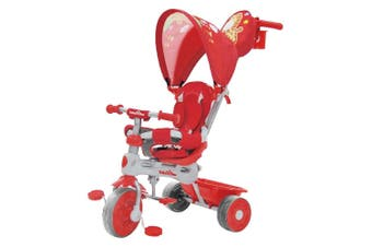 Trike Star 3-in-1 Grand Comfort Tricycle in Red