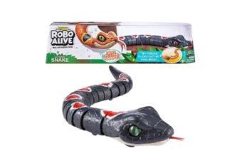 Zuru Robo Alive Slithering Robotic Snake Toy in Grey