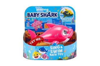 Robo Alive Junior Robotic Baby Shark in Pink