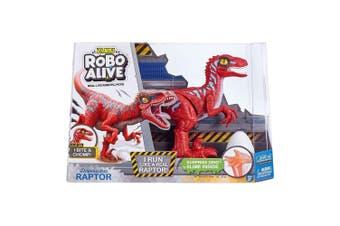 Zuru Robo Alive Robotic Rampaging Raptor with Slime in Red