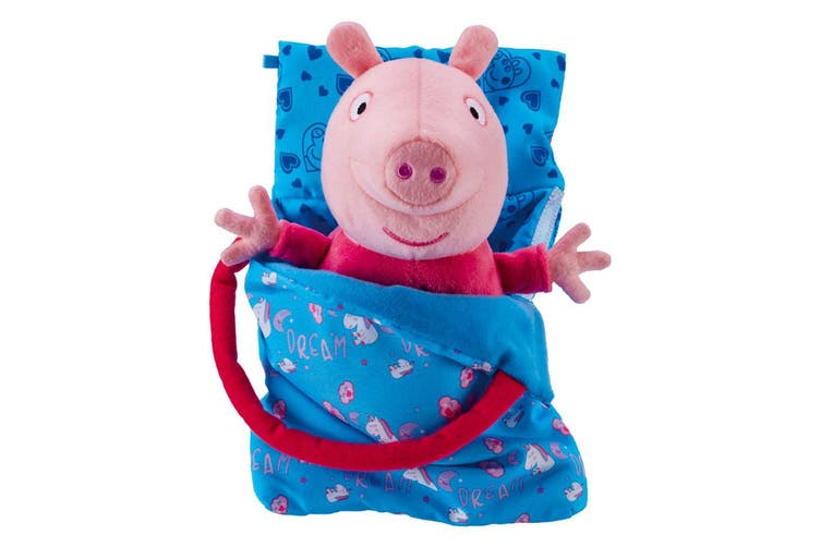 Peppa Pig Sleepover Peppa Plush Toy