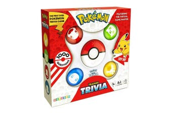 Pokemon Trainer Electronic Trivia Game