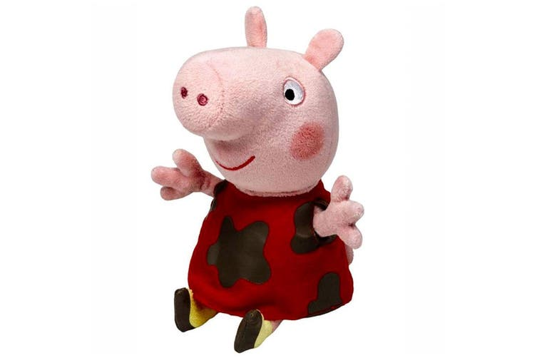 Peppa Pig Regular Muddy Peppa Plush by TY