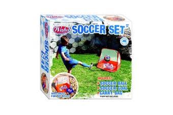 Wahu Goal Soccer Set