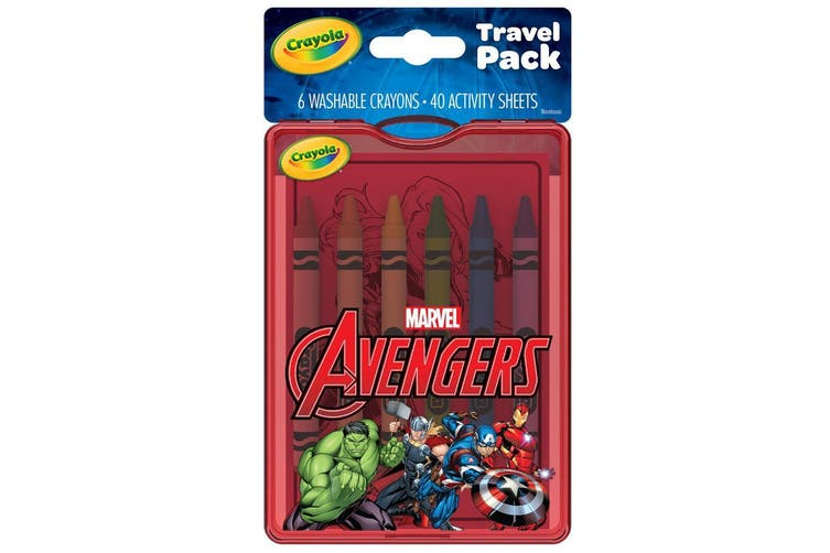 Crayola Marvel Avengers Travel Pack