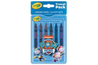 Crayola Paw Patrol Travel Pack