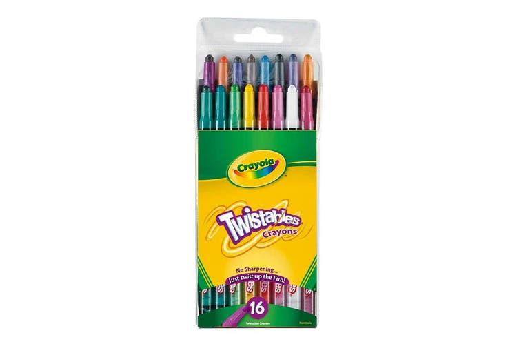 Crayola Twistables Crayons - 16 Pack
