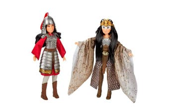 Disney Princess Mulan and Xianniang Dolls