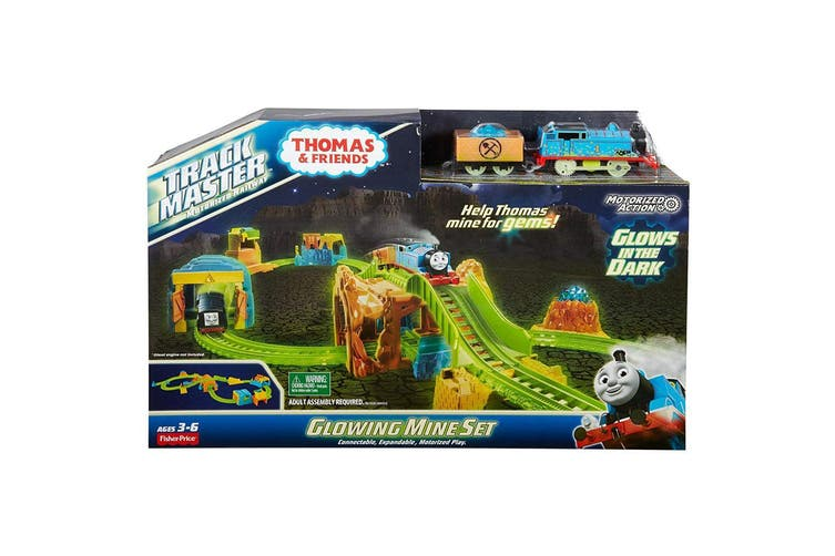 Thomas and Friends TrackMaster Glowing Mine Set