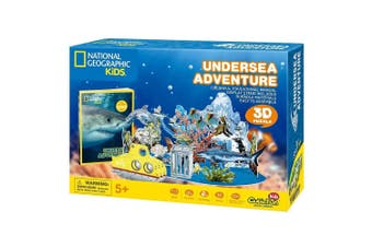 National Geographic Kids Undersea Adventure 3D Puzzle