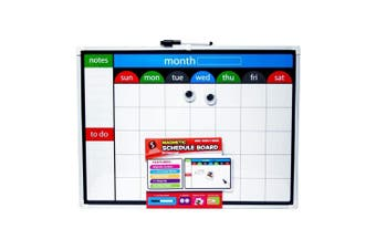 Scribbles Stationery Magnetic Schedule Board