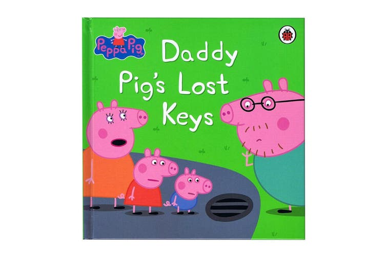 My First Storybook Peppa Pig - Daddy Pig's Lost Keys