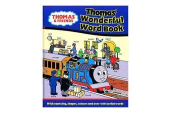 Thomas Wonderful Word Book by Britt Allcroft