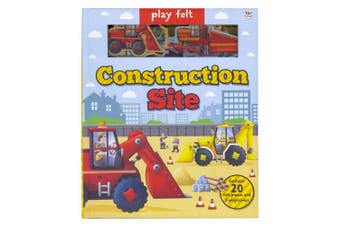 Play Felt Construction Site Soft Activity Book