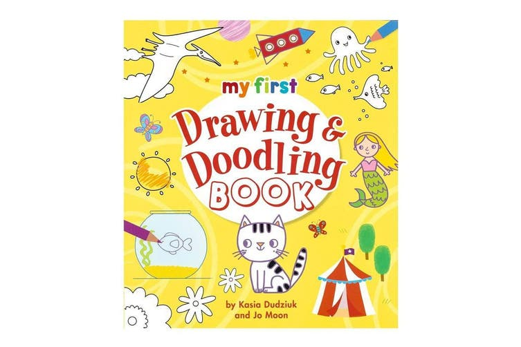 My First Drawing Doodling Book
