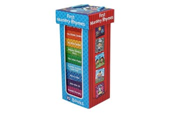 First Nursery Rhymes-10 Chunky Board Book Box Set