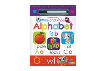Little Learning Write and Wipe Alphabet