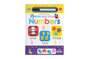 Little Learning Write and Wipe Numbers