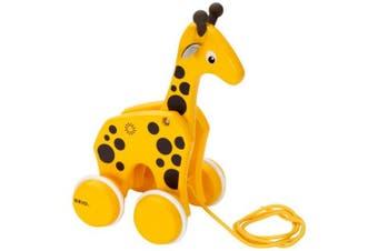Brio Early Learning Toddler Pull-Along Giraffe