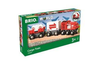 Brio World Cargo Train