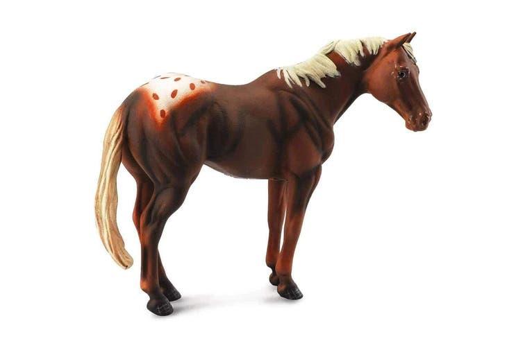 CollectA Horse Country Chestnut Appaloosa Stallion XL
