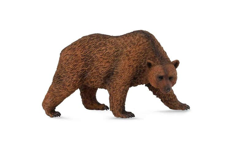 CollectA Wild Life Brown Bear Toy Figure