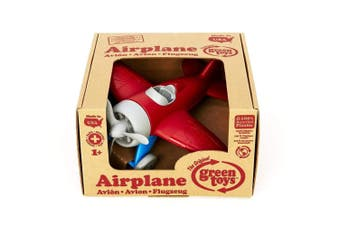 Green Toys Airplane in Red