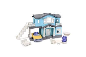 Green Toys House Playset in Blue