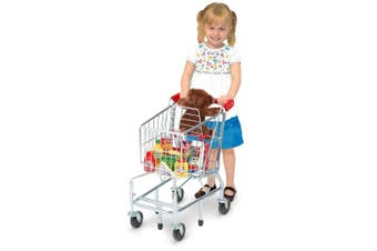Melissa and Doug Toy Grocery Shopping Cart