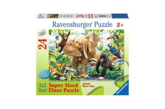 Ravensburger Jungle 24-Piece Super Sized Floor Puzzle