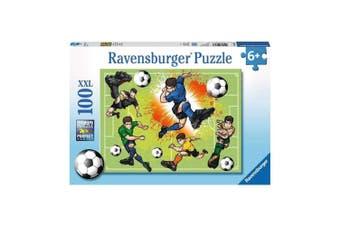 Ravensburger Soccer Fever Puzzle 100-Piece XXL Puzzle