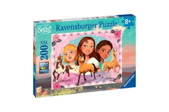 Ravensburger Spirit Adventure with Lucky Puzzle 200-Piece Puzzle
