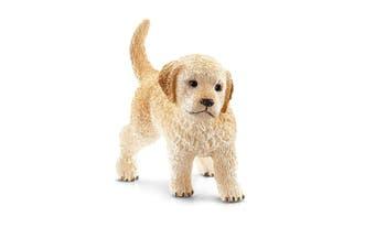 Schleich Farm World Golden Retriever Puppy Toy Figure
