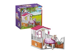 Schleich Horse Club Horse Stall with Lusitano Mare Toy Figure