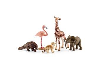 Schleich Wild Life Assorted Animal Figure Set