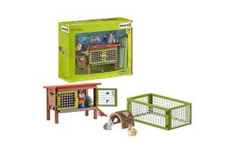 Schleich Farm World Rabbit Hutch