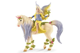 Schleich Bayala Fairy Sera with Blossom Unicorn