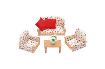 Sylvanian Families 3-Piece Lounge Suite Set