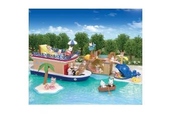 Sylvanian Families Seaside Cruiser House Boat